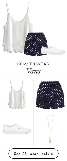 """The pool party went great!"" by flowers8989 on Polyvore featuring Chicwish, Zizzi, Vans, Kendra Scott and poolparty"
