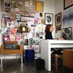 A day in the life of Alana Frankel, Art Director at One King's Lane via Design Sponge