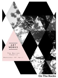 ART WORKS: Exhibition Poster | Toby Marsh Creative