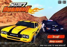 Play Swift Burnout and experience a high speed intense driving game with amazing turns to reveal your inner racer instinct. Master your racing skills and tune your car just right to maximize performance. Race in 3 different exciting locations, Unlock all levels and cars to reach the top.Compete with different wild drivers and become the Master of racing.