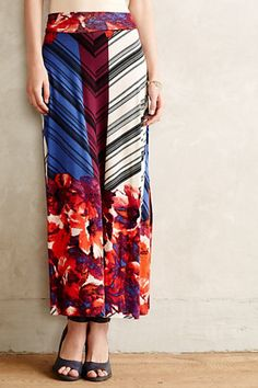 Bloomblock Maxi Skirt