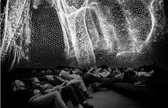 Juxtapoz Magazine - Immersive 360° Installation of Virtual Universe