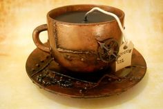 Recycle Reuse Renew Mother Earth Projects: How to make Tea Cup Candles