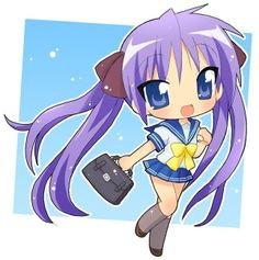 Anime Chibi ~ Posted by michele .  You Can Do It 2. http://www.zazzle.com/posters?rf=238594074174686702