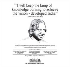 Apj abdul kalam -what is his contribution to india -can any one tell me just 5 reasons??