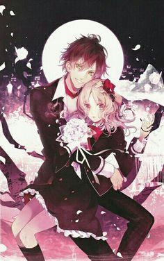 Diabolik Lovers Ayato Sakamaki Art Manga Anime