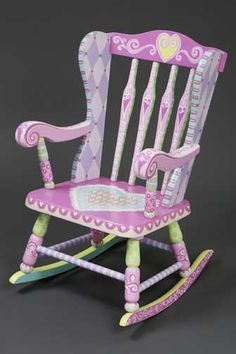 Child's Rocking Chair --too cute