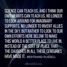#atheist #atheism #quote #bertrandrussell