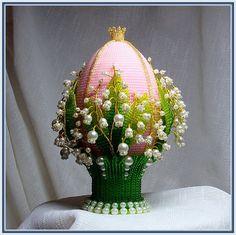 Пасхальное яйцо... из бисера. Обсуждение на LiveInternet - Российский Сервис Онлайн-Дневников