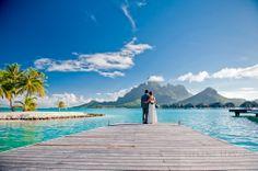 bora bora wedding in Tahiti