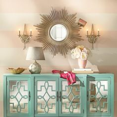 Reyes Sunburst Oversized Wall Mirror
