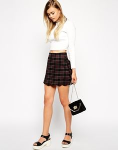 I wouldn't style it like this, but the skirt is gorgeous!