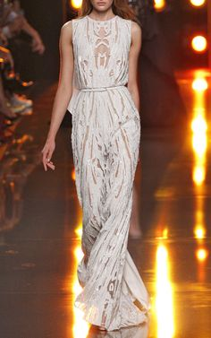 Elie Saab Spring/Summer 2015 Trunkshow Look 49 on Moda Operandi