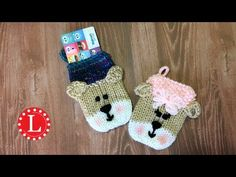 Loom Knit Gift Card Holder Video - LoomaHat.com
