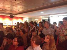 Presentación de 'Guía práctica para una alimentación y vida anticáncer', de Odile Fernández, en la Fnac Callao de Madrid, el 23/9/15.