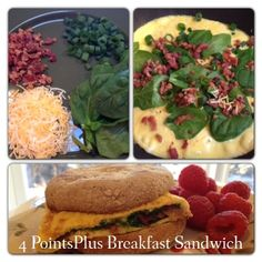 Weight Watchers Recipes with Points | Weight Watchers Breakfast Sandwich Recipe