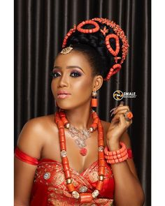 """TRADOHUB (TWH) 🌹👫😍💄🌍👗 on Instagram: """"❗Are you a Bride👰seeking a unique and creative hairstyle for you special day💍? Well, search no more my beautiful brides because…"""" African Fashion Ankara, Latest African Fashion Dresses, African Wear, African Attire, African Style, African Beauty, African Wedding Hairstyles, Bride Hairstyles, Igbo Bride"""