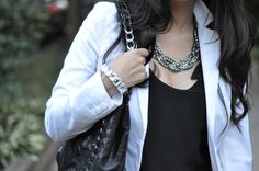 Crystal Cuff and Luxe Braided Necklace