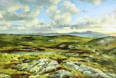 Inishowen Penninsula Painting by Conor McGuire