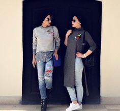 Pin :: @zozzza Modern Hijab Fashion, Hijab Fashion Inspiration, Islamic Fashion, Muslim Fashion, Modest Fashion, Fashion Outfits, Women's Fashion, Hijab Style, Turban Style