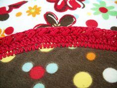 Crochet Cami: Another Receiving Blanket