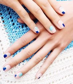 The Chicest Nail Designs We've Seen in 2016 (So Far) via @ByrdieBeautyUK