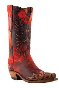 Lucchese Since 1883 - N4735 - Lucchese Ladies' with Athens Stitch Pattern