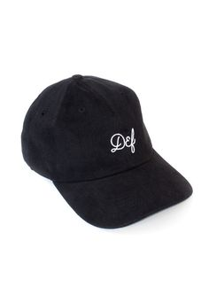 Chain Logo Magee Cap Black / White