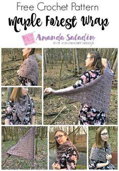 b7cf8ca7c5d26 Maple Forest Wrap - Free Crochet Pattern