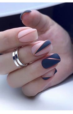 Chic Nails, Stylish Nails, Trendy Nails, Swag Nails, Elegant Nails, Classy Nails, Nagellack Design, Pretty Nail Art, Neutral Nails