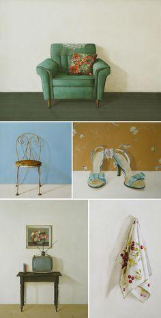 6 petals blog // a mix of vintage, DIY, design, style: ::artist spotlight // holly farrell::