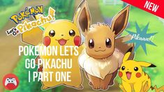 Pokemon Lets go Pickachu is the new game of the month and I would love to share my experiences in this play-through of the Pikachu version. Pikachu, Pokemon, Letting Go, Let It Be, Play, Youtube, Lets Go