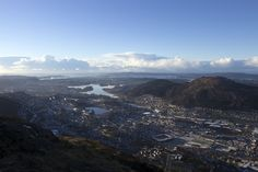 View of Bergen from Mount Ulriken | Her Couture Life www.hercouturelife.com