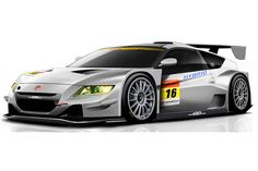 Honda CR-Z GT300 race car