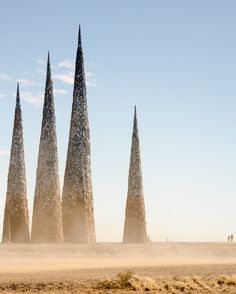 AfrikaBurn Festival: An anti-fracking artwork (sculpture) - Tankwa, Karoo - South Africa. Photo © Sarah Duff 2014