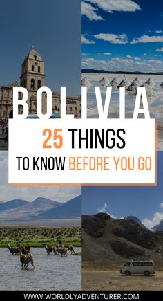 For a first-timer to South America, traveling in Bolivia can feel a bit intimidating. Given that Bolivia has so many unique tourist attractions, there isn't much information easily available for tourists. Read the article to know everything about planning your trip to Bolivia, transportation in Bolivia, what to pack for Bolivia and staying safe in Bolivia.
