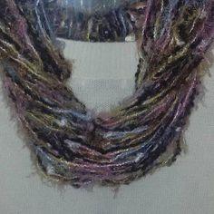 Sciarpa collana scarf donna regalo uncinetto crochet