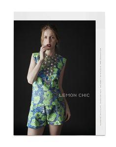 Lemon Chic SS2014 on Behance