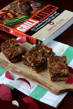 Alternative to Thanksgiving Pecan Pie: Pecan Pie Bars by David Guas