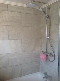 12x24 Quot Wall Tile Bathroom Remodel In 2019 Pinterest