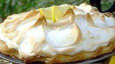 meringue on top of pie