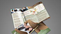Homelife Dreams Brokerage - 3-fold Brochure Design 3 Fold Brochure, Brochure Design, Creativity, Dreams, Storage, Home Decor, Purse Storage, Tri Fold Brochure, Flyer Design
