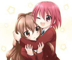 Taiga, Minori, hug awww ;3
