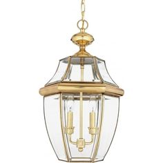 These are quality lights hand crafted in solid brass with a gold polished finish and featuring clear bevelled glass to give maximum illumination.