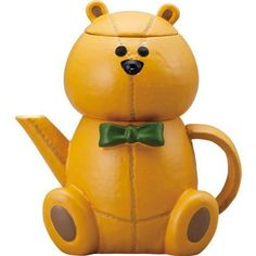 SUN ART JAPAN Japanese Sunart TEA FOR ONE Teapot Tea cup Set Teddy Bear SA-2123