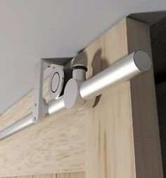 Ceiling Mount Bracket Stainless Steel Sliding Barn Wood Door Track Hardware