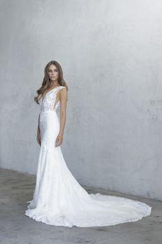 Wedding Dress Styles, Dream Wedding Dresses, Designer Wedding Dresses, Bridal Dresses, Wedding Gowns, Bridesmaid Dresses, Lace Wedding, Bridget Satterlee, Unique Dresses