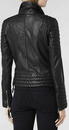 Steine Leather Biker Jacket