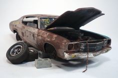 FOR SALE Rusty Neglected 1970 Chevrolet Chevelle SS Barn Find Junkyard