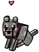 Look it's wolfia! #minecraft #joey
